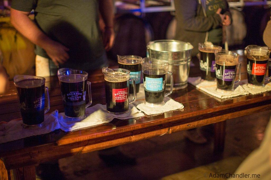 Goose Island's 2015 Rare Day Celebration in Chicago