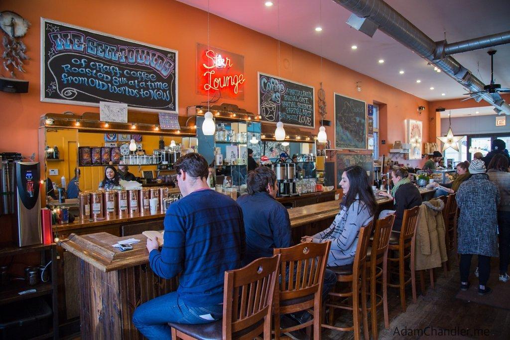 Dark Matter - Star Lounge Coffee Bar