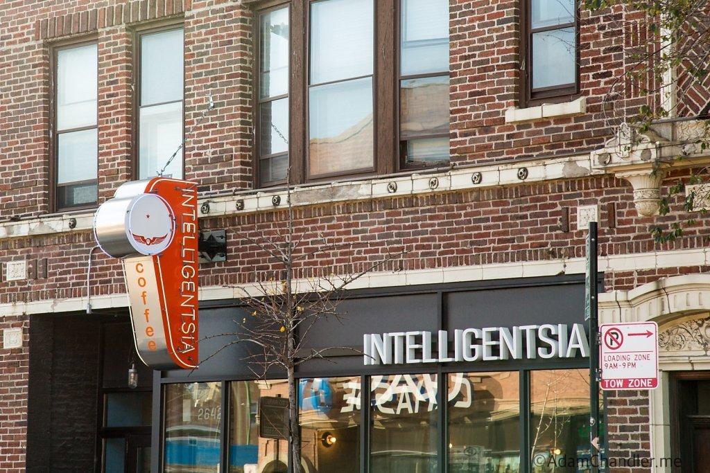Intelligentsia Coffee Bar, Logan Square Chicago