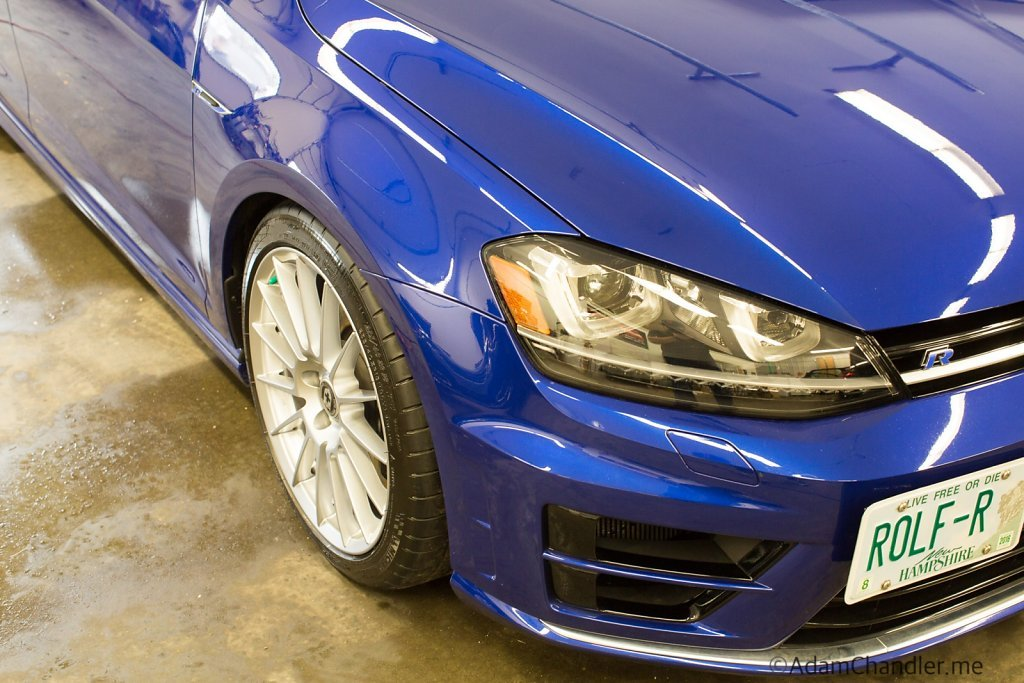 Golf R Detailing @ Northeast Auto, Hookset New Hamphshire